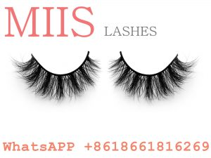 Christmas private label strip bare band eyelashes